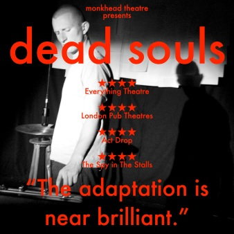 DEAD SOULS star poster square